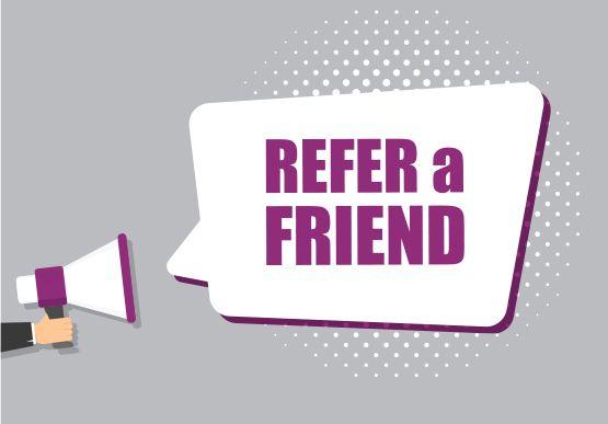 Refer a friend - get a $50 gift card